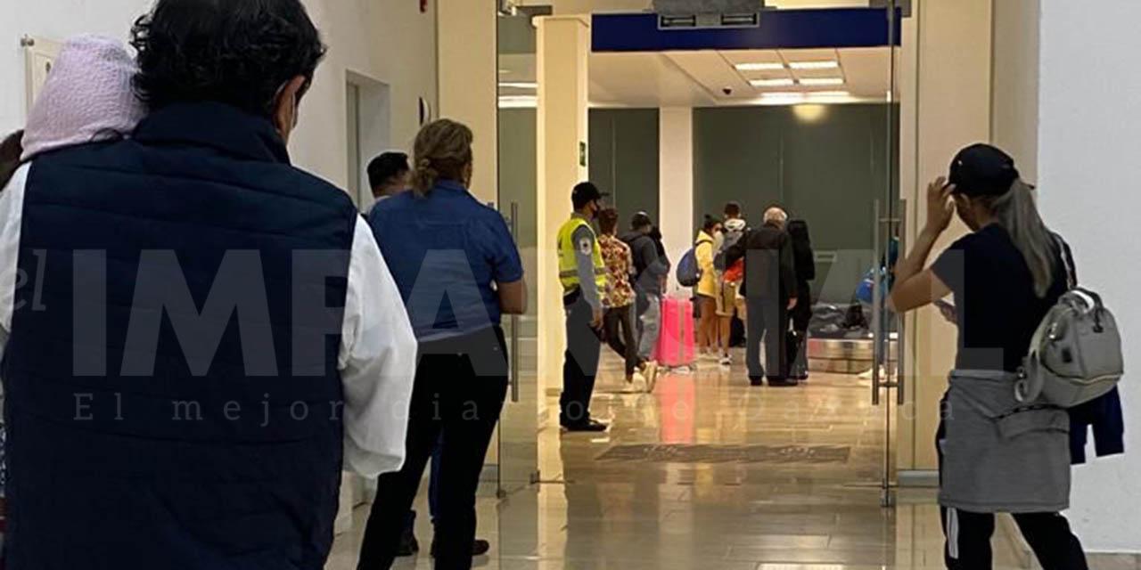 Activo protocolo sanitario en el Aeropuerto Internacional de Oaxaca | El Imparcial de Oaxaca