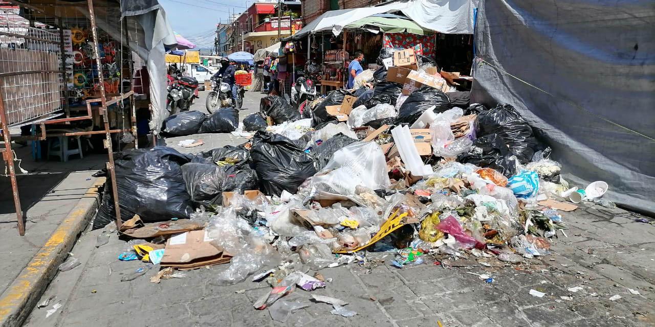 Por falta de combustible, suspenden nuevamente la recolección de basura en la capital oaxaqueña | El Imparcial de Oaxaca