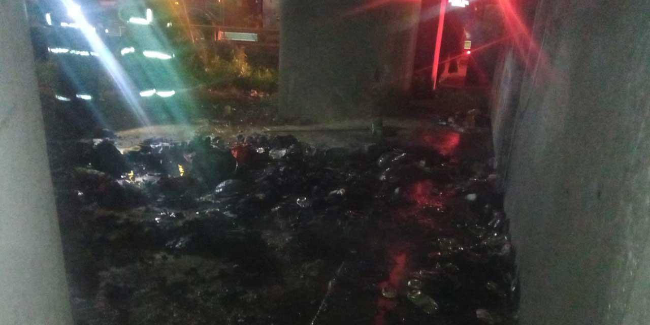Reportan incendio en puente de Cinco Señores   El Imparcial de Oaxaca
