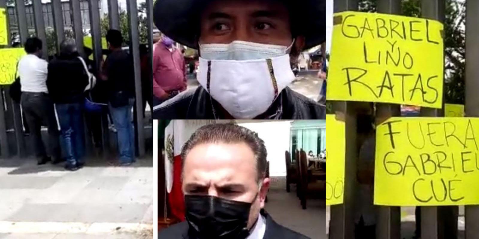 Diputados solapan corrupción, protestan campesinos en el congreso local   El Imparcial de Oaxaca