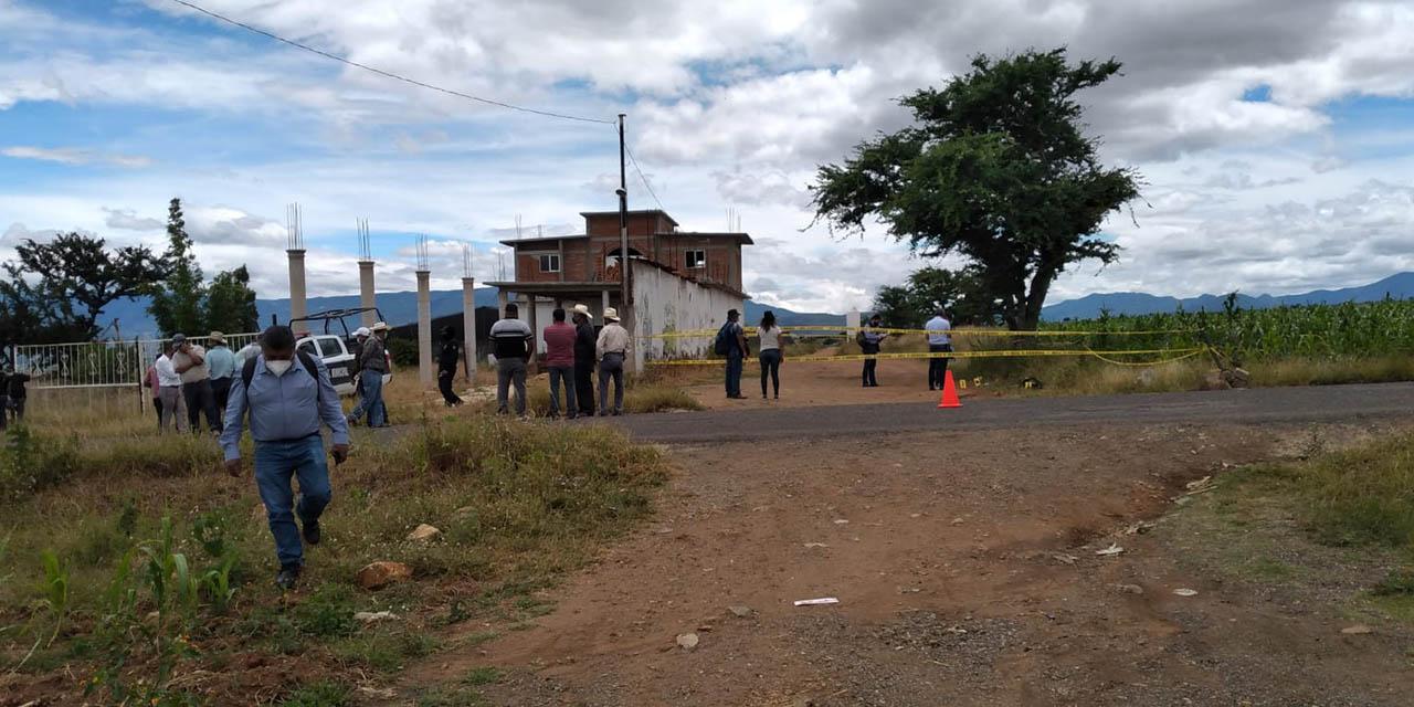 Encuentran cadáver con disparos de arma de fuego en Tlacolula | El Imparcial de Oaxaca