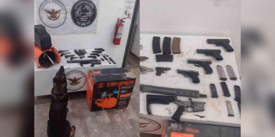Intercepta Guardia Nacional cargamento de armas en Sonora | El Imparcial de Oaxaca