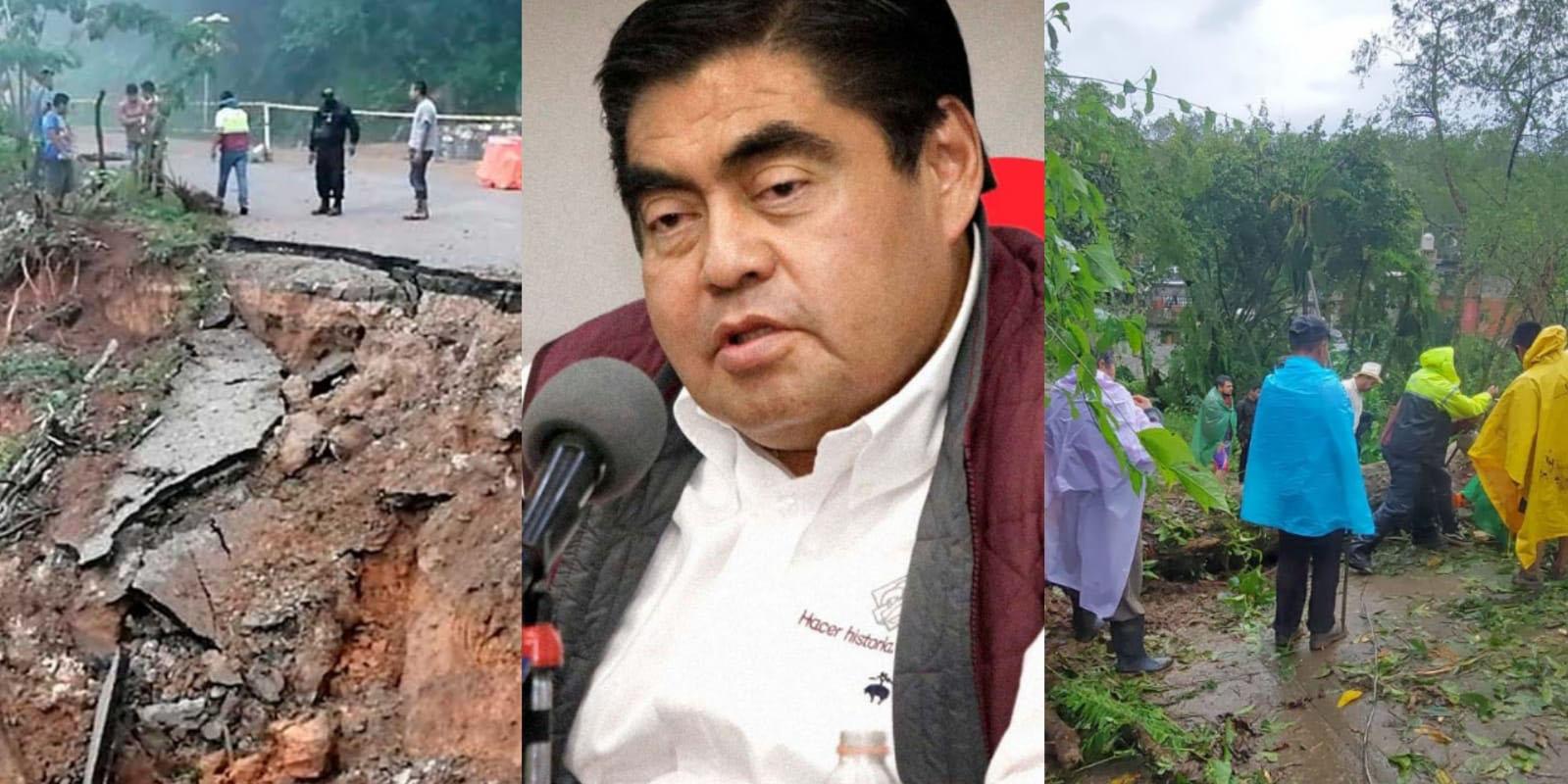 No se abandonará a poblanos que fueron afectados por 'Grace': asegura Miguel Barbosa | El Imparcial de Oaxaca