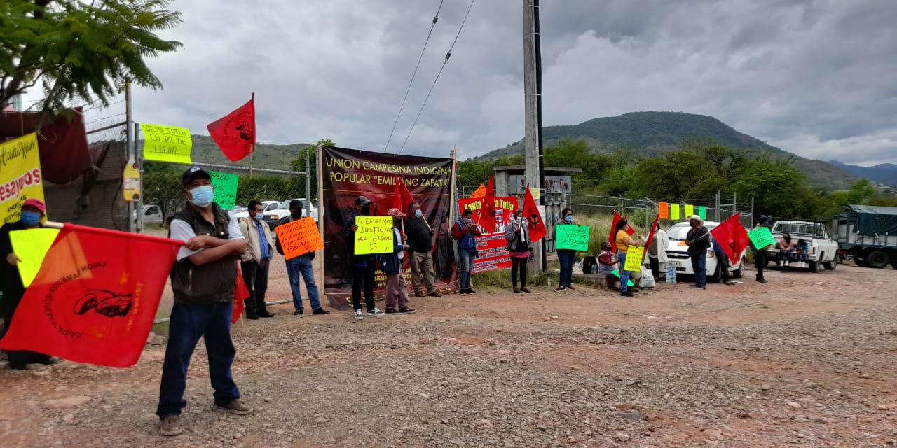 Protesta FPR también en la Mixteca | El Imparcial de Oaxaca