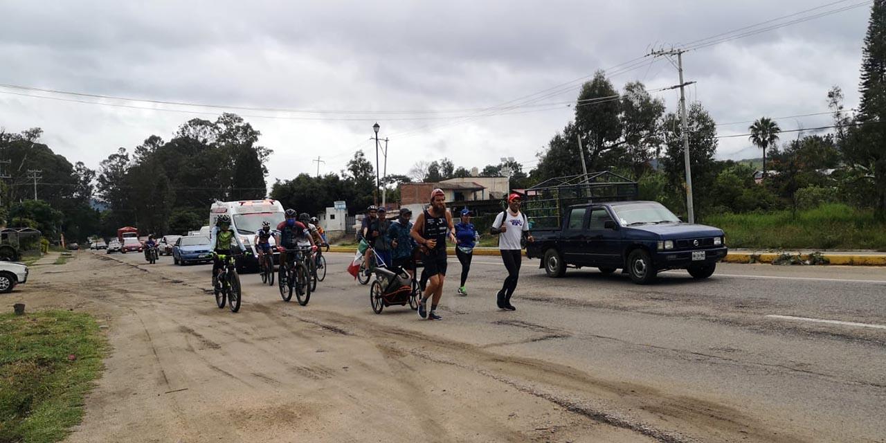 El Forrest Gump alemán llega al Valle Eteco | El Imparcial de Oaxaca
