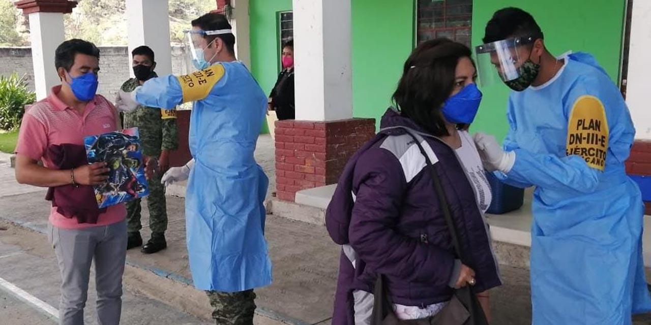 Retoma Ejército brigadas de vacunación anti Covid | El Imparcial de Oaxaca