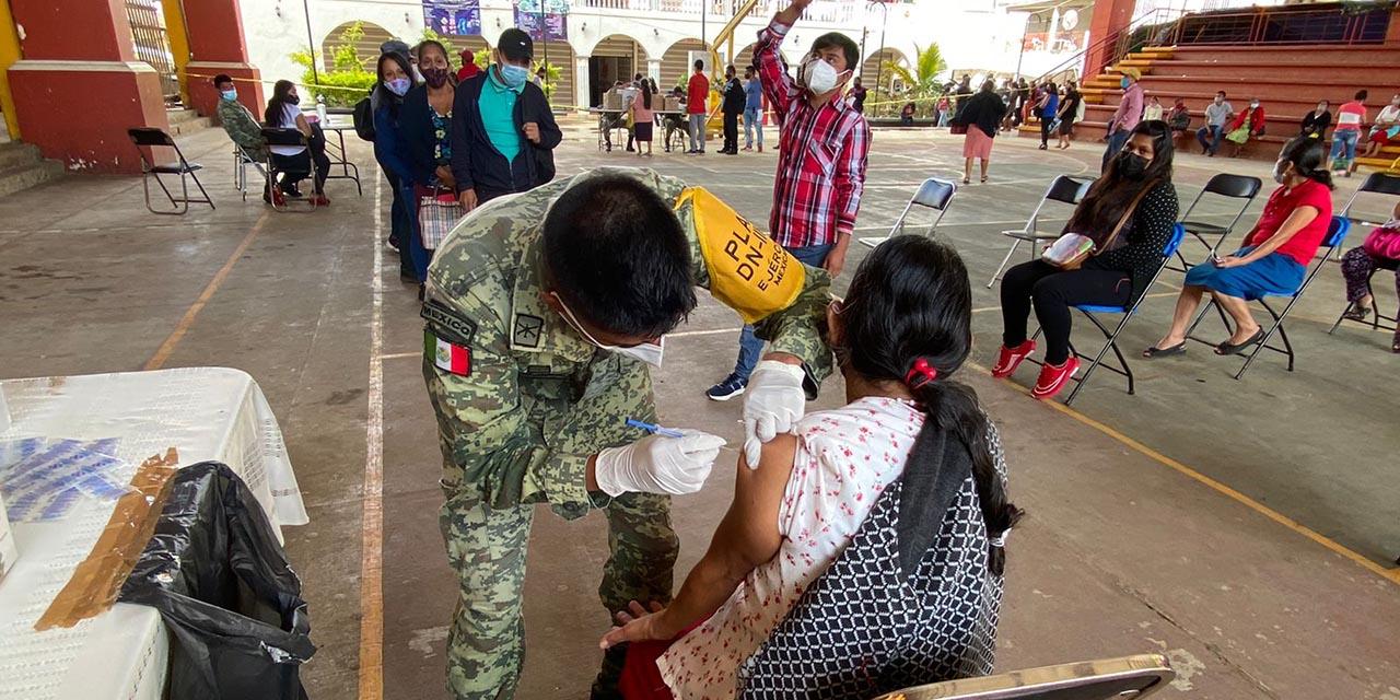 Continúa vacunación anti Covid en la Mixteca | El Imparcial de Oaxaca