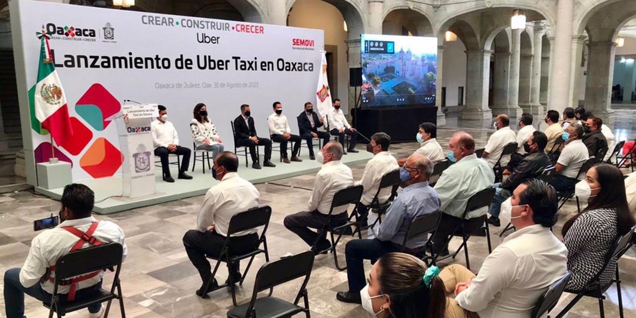 Oaxaca, cuarta entidad del país en adoptar el servicio de Uber Taxi   El Imparcial de Oaxaca