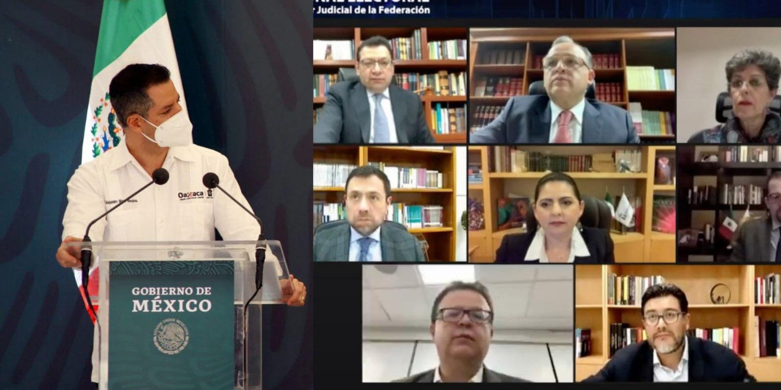 Avala Alejandro Murat  una reforma electoral   El Imparcial de Oaxaca