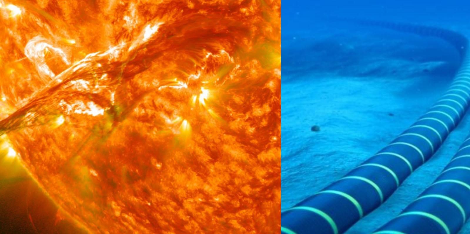 Tormentas solares causarían el 'apocalipsis de internet', cables submarinos colapsarían   El Imparcial de Oaxaca