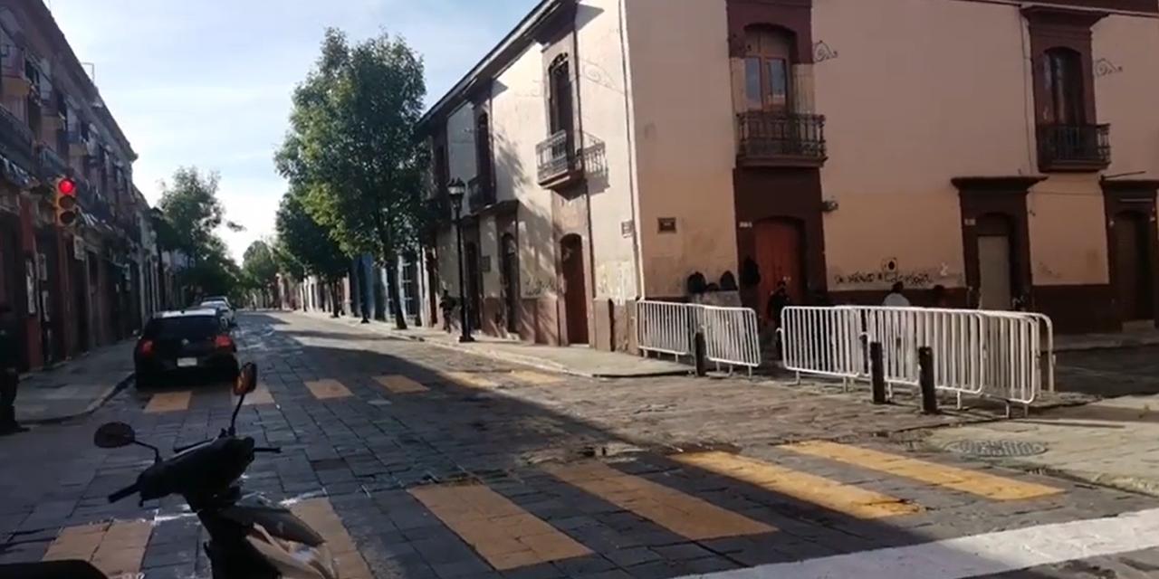 Reabren calles del Centro Histórico | El Imparcial de Oaxaca