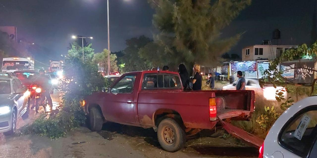 Provoca violenta colisión múltiple   El Imparcial de Oaxaca