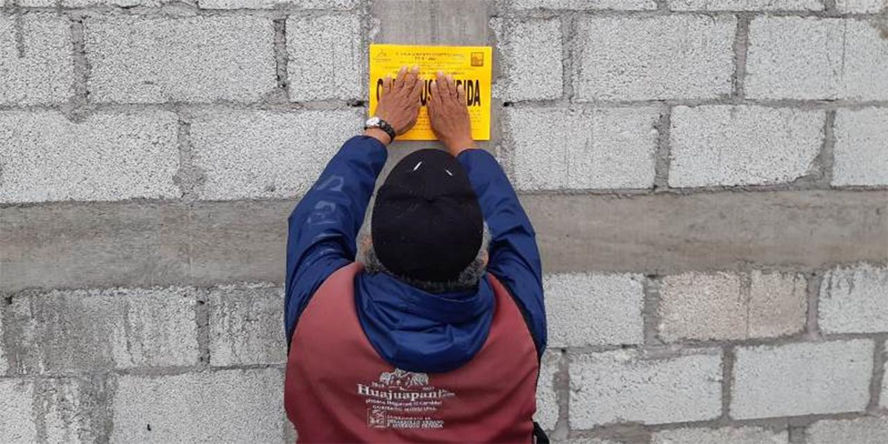 En operativo clausuran obras irregulares | El Imparcial de Oaxaca