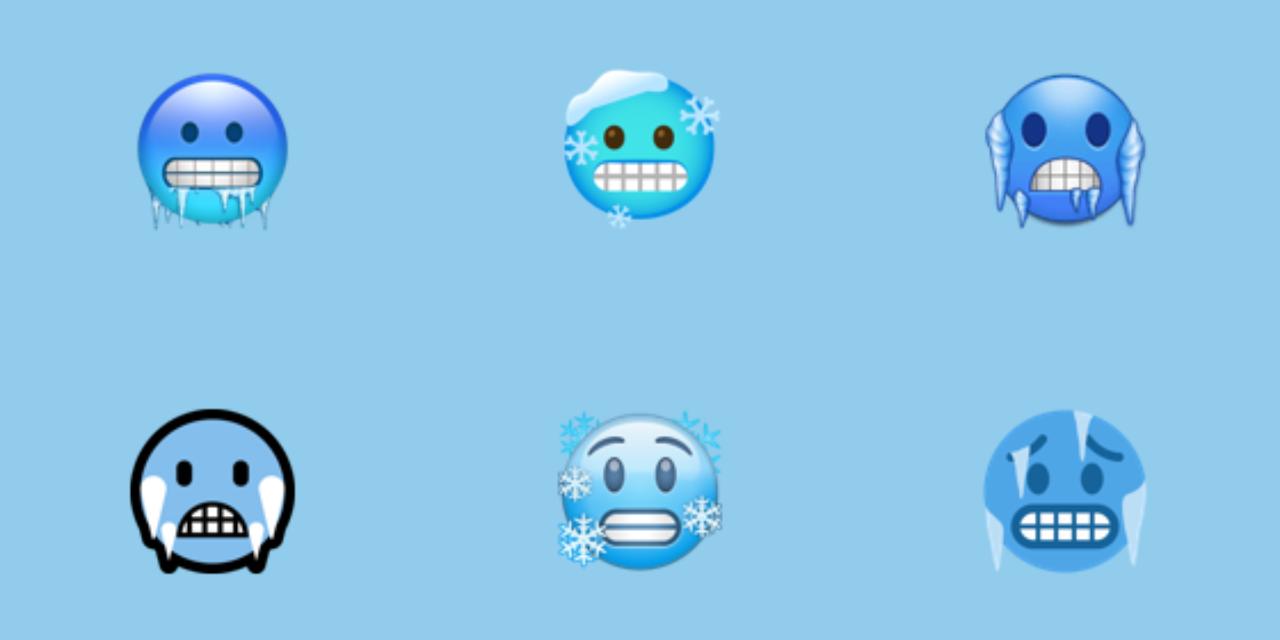 Este emoji no solo significa para decir que tienes mucho frío, aquí su historia | El Imparcial de Oaxaca