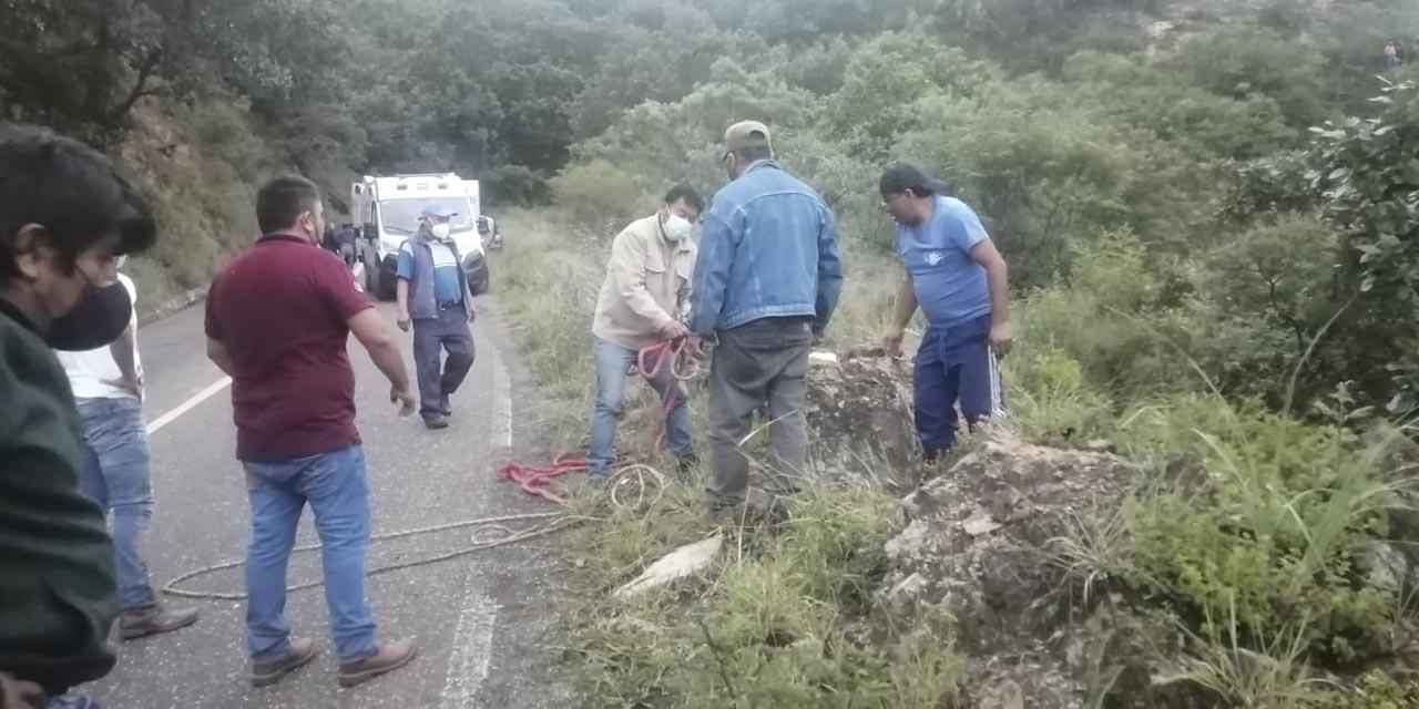 Se van al voladero en carretera a Ixtlán | El Imparcial de Oaxaca