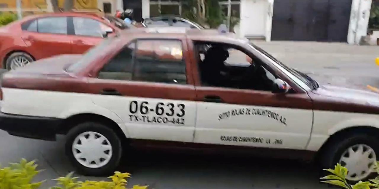 Semovi podría quitar concesión a taxi involucrado en asalto | El Imparcial de Oaxaca