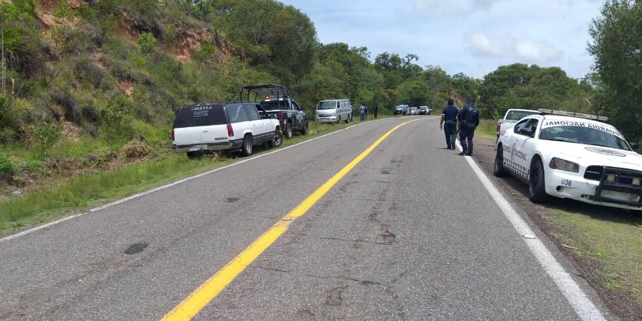 Macabro hallazgo en carretera Huajuapan-Acatlán   El Imparcial de Oaxaca