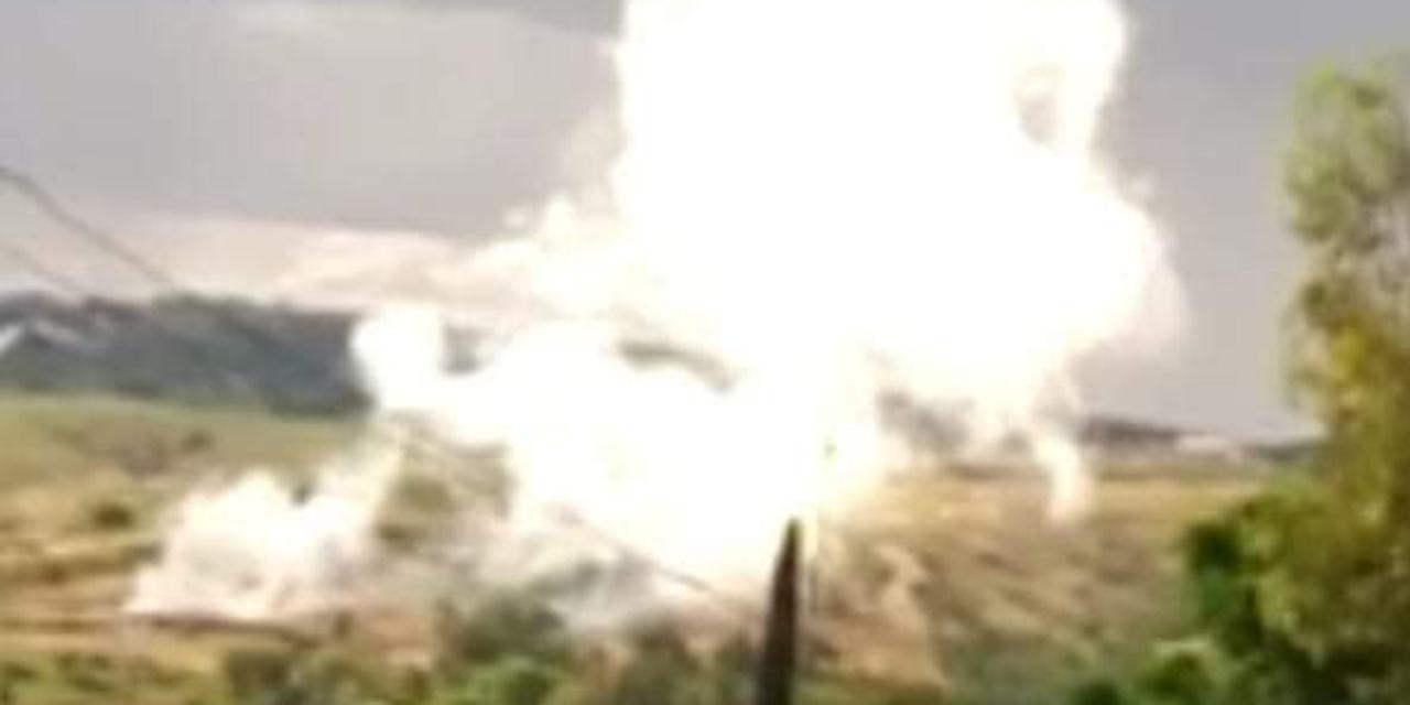 Dolorosa agonía tras explosión de polvorín | El Imparcial de Oaxaca