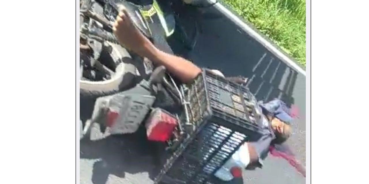 Fallece al impactarse con remolque   El Imparcial de Oaxaca