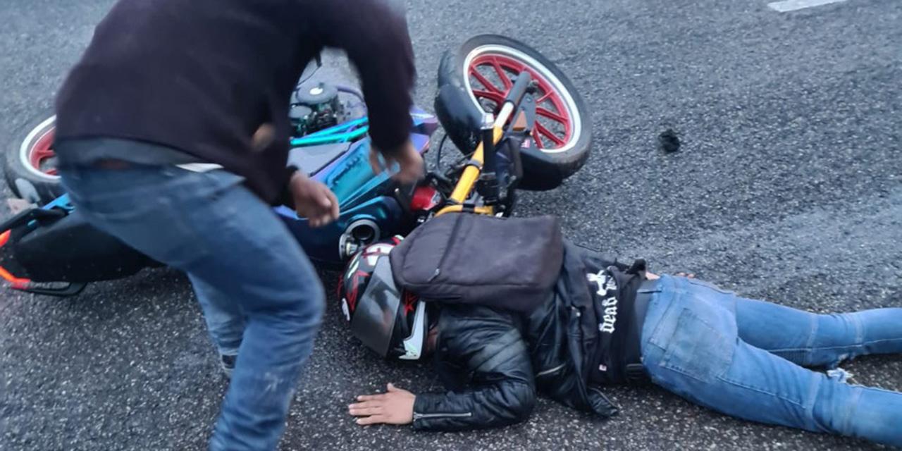 Ebrio motociclista azota en carretera 175   El Imparcial de Oaxaca