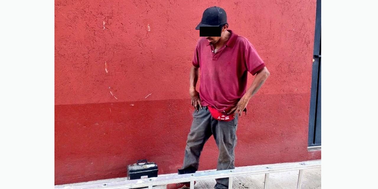 Lo agarran con partes de automóvil robadas   El Imparcial de Oaxaca