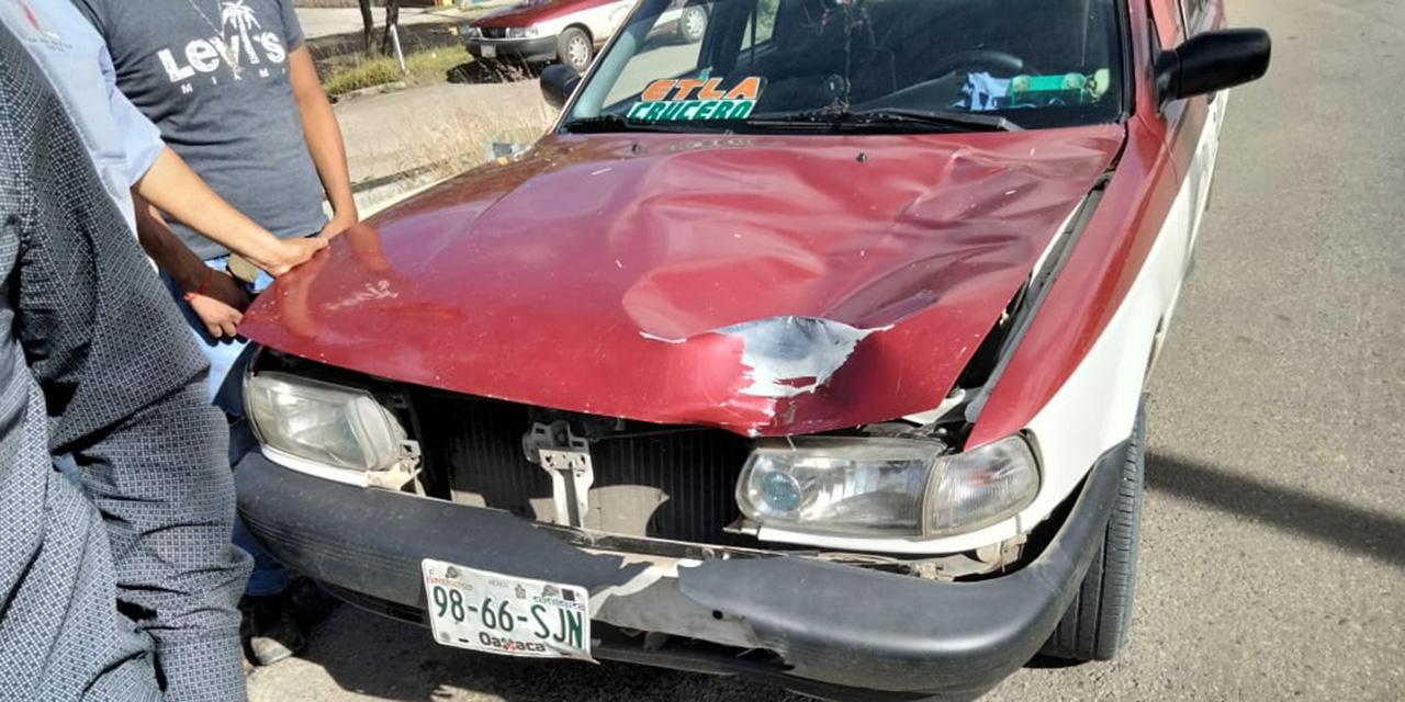 Taxista atropella a mujer en Santiaguito, Etla | El Imparcial de Oaxaca