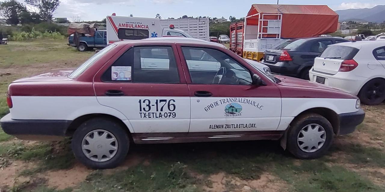 Delincuencia viaja en taxis foráneos   El Imparcial de Oaxaca