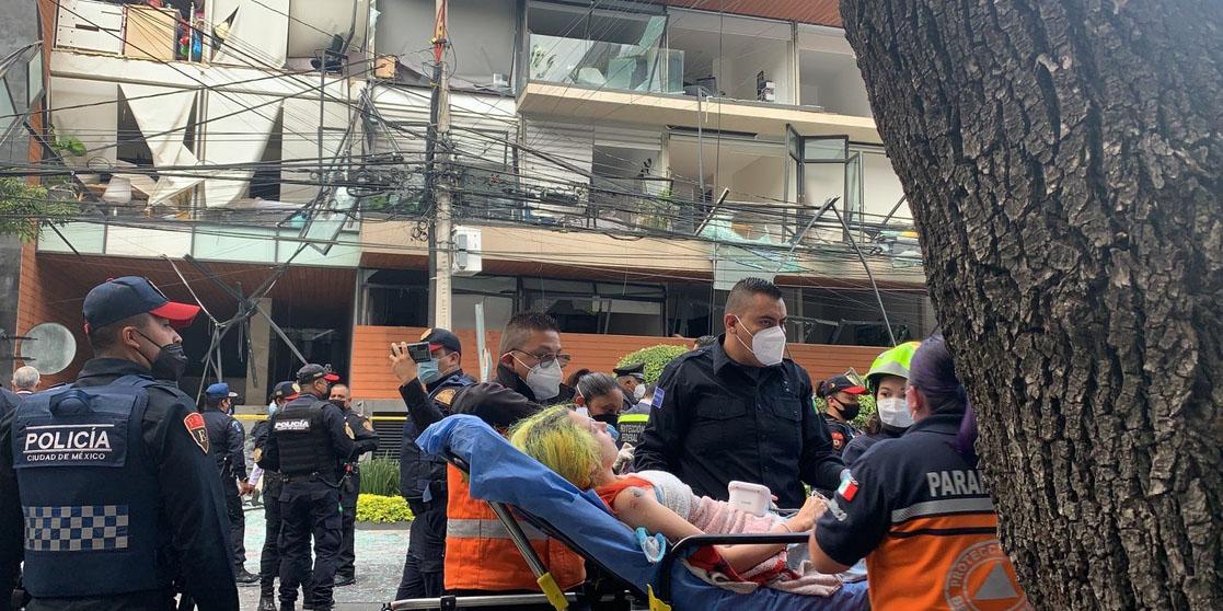Fallece un hombre tras la explosión que se suscito hoy en avenida Coyoacán   El Imparcial de Oaxaca
