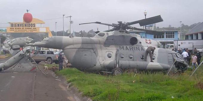 Cae helicóptero de la Marina en el cuál se trasladaba el secretario de gobierno de Veracruz   El Imparcial de Oaxaca