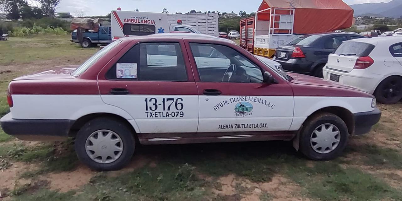 Taxis foráneos, instrumentos de la delincuencia | El Imparcial de Oaxaca