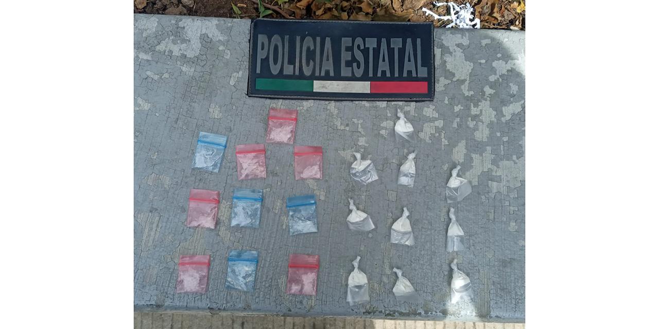 Caen dos presuntos distribuidores de droga en Mexicápam   El Imparcial de Oaxaca