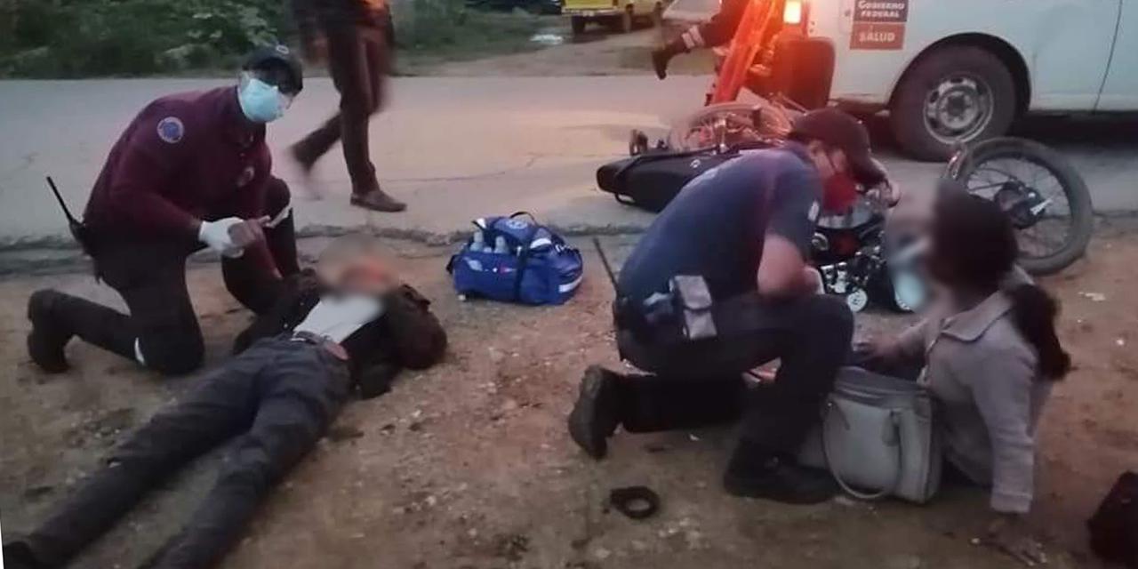 Atropellan a motociclistas en Cuilápam   El Imparcial de Oaxaca
