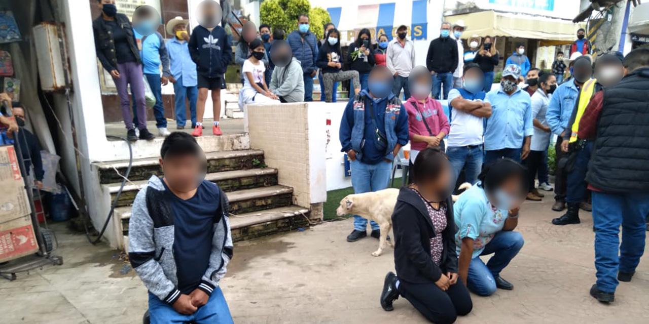 Cazan en Huautla a tres carteristas   El Imparcial de Oaxaca