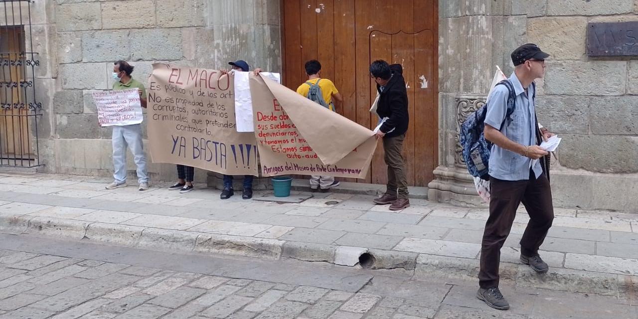 Empleados del MACO van a instancia federal   El Imparcial de Oaxaca