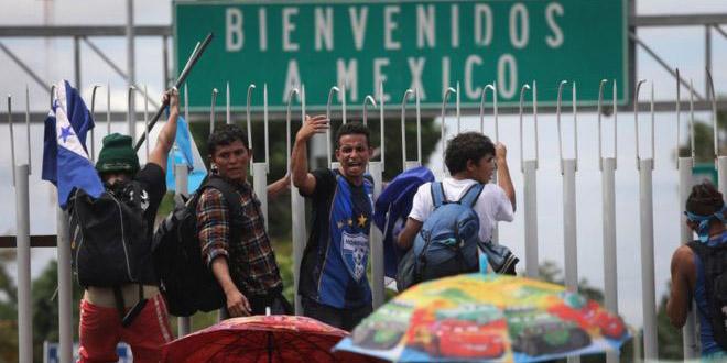 Migrantes que no respeten la ley, no se les permitirá el avance : asegura Encinas   El Imparcial de Oaxaca