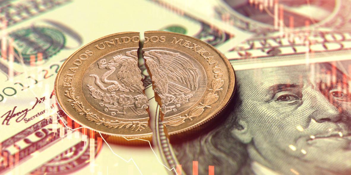 Vaya semana tan 'pesadita' para el peso: cae 2.51% frente al dólar | El Imparcial de Oaxaca