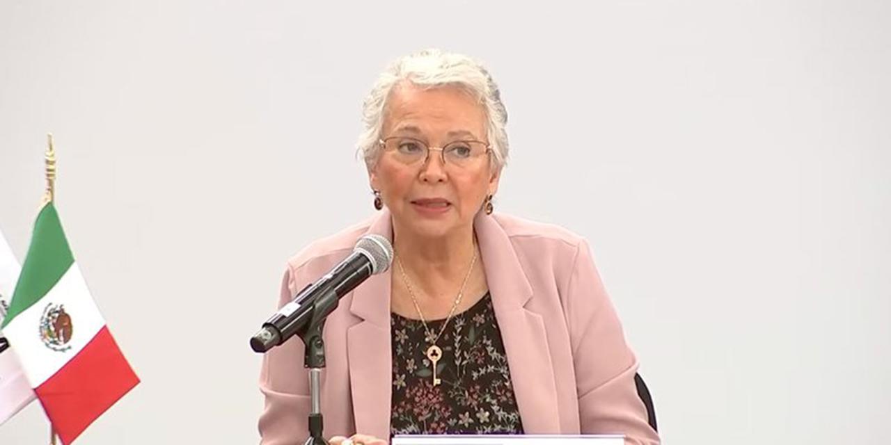 Olga Sánchez Cordero renuncia Gobernación, para retomar su escaño en el Senado   El Imparcial de Oaxaca