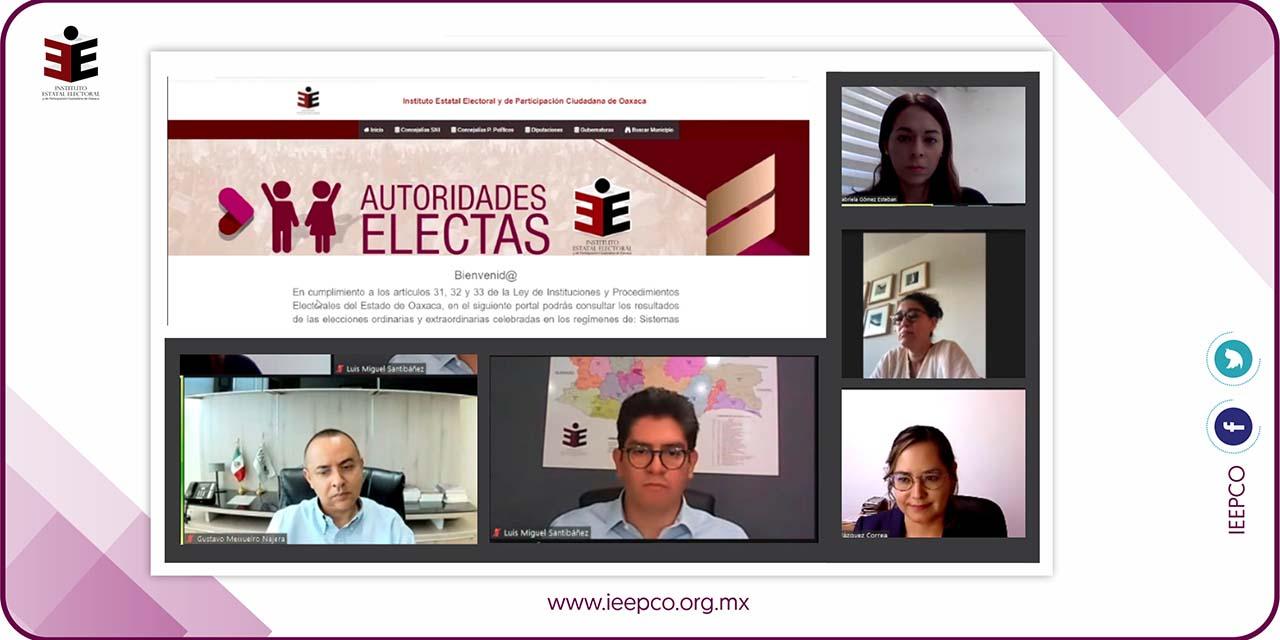 IEEPCO presenta Sistema de Autoridades Electas | El Imparcial de Oaxaca