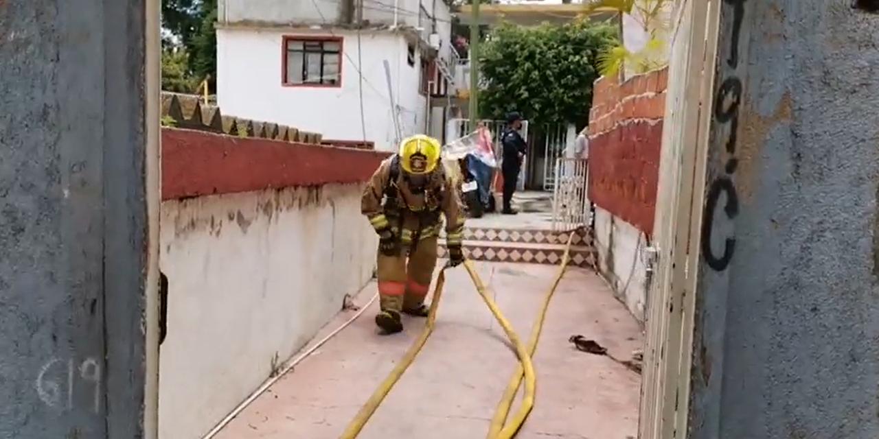 Incendio en casa habitación en la calle Sabino Crespo   El Imparcial de Oaxaca