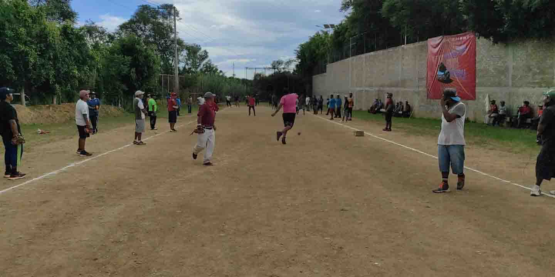 Empezó el juego de pelota mixteca   El Imparcial de Oaxaca