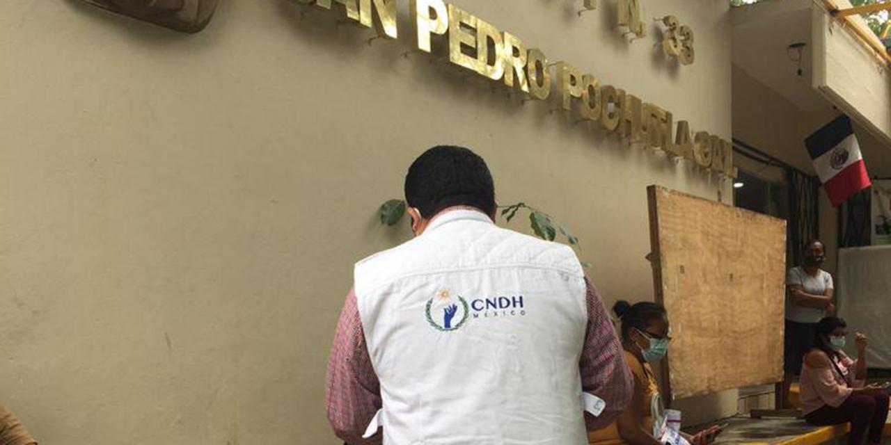 CNDH recorre unidades hospitalarias de la Costa | El Imparcial de Oaxaca