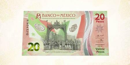 Presentan nuevo billete de 20 pesos, es conmemorativo al Bicentenario de la Independencia   El Imparcial de Oaxaca
