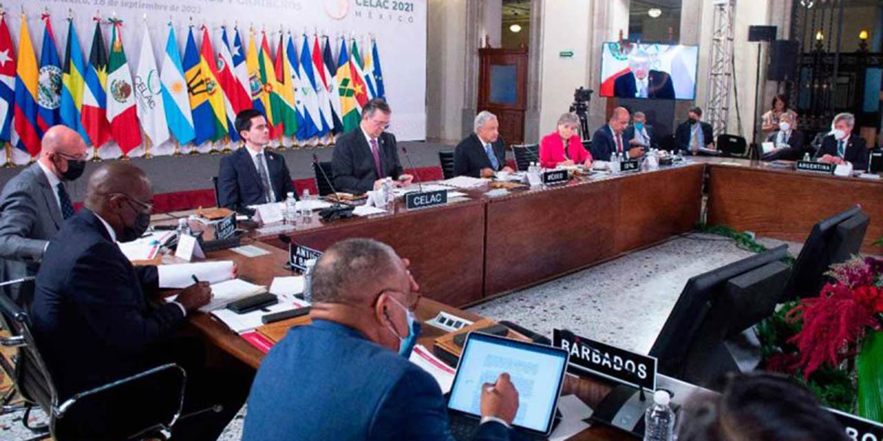 Ante CELAC, López Obrador urge a poner fin a políticas de bloqueo   El Imparcial de Oaxaca