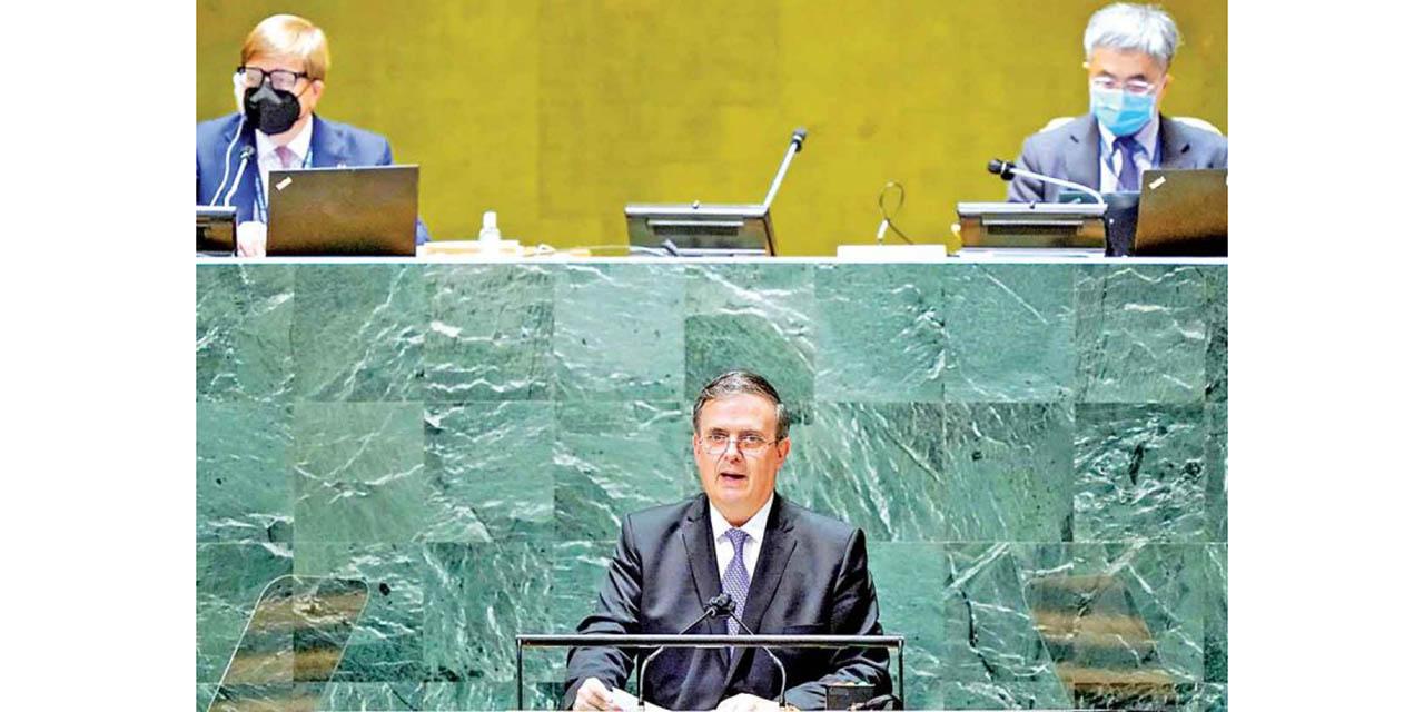 En la ONU, Ebrard pide fin de bloqueo a Cuba | El Imparcial de Oaxaca