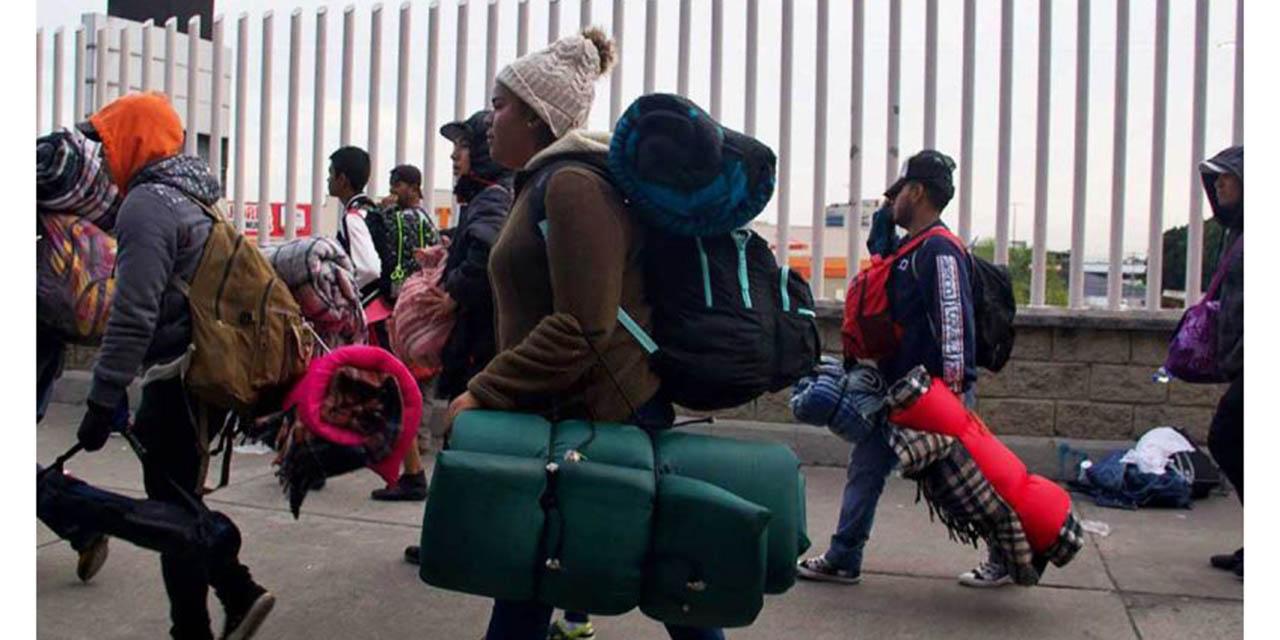 No queremos que México sea un campamento para migrantes: López Obrador   El Imparcial de Oaxaca