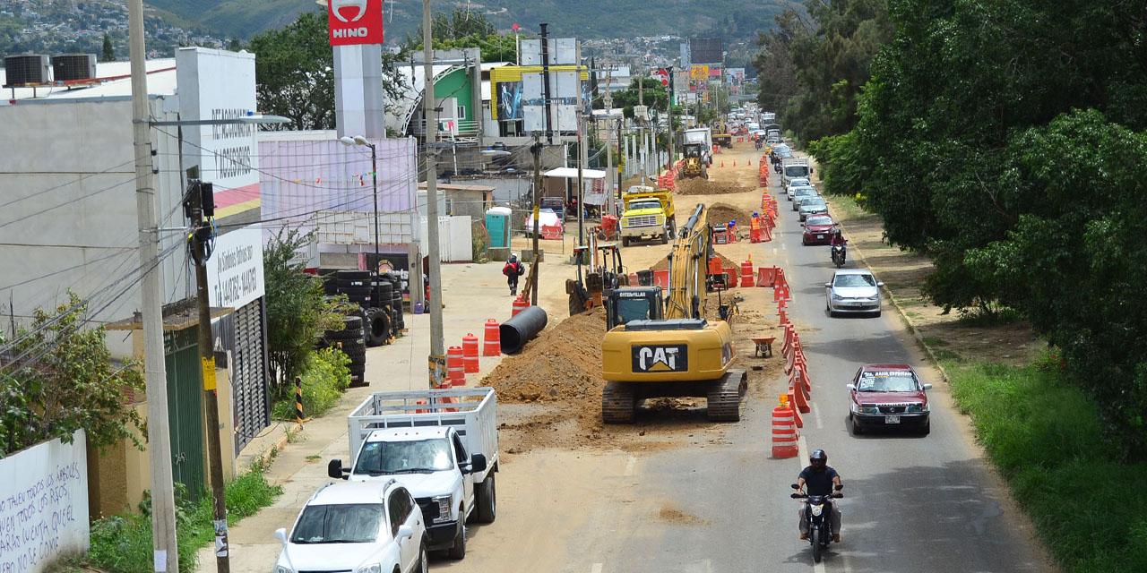 Obras de Símbolos Patrios matan economía de la zona | El Imparcial de Oaxaca