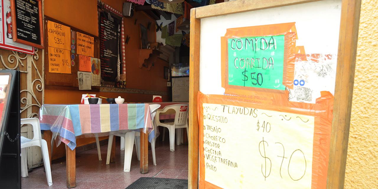Enfrentan restaurantes y fondas carestía de insumos | El Imparcial de Oaxaca