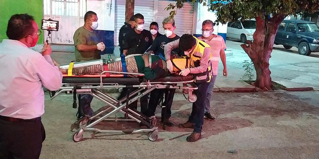 Lo rescatan de edificio en llamas en Salina Cruz   El Imparcial de Oaxaca