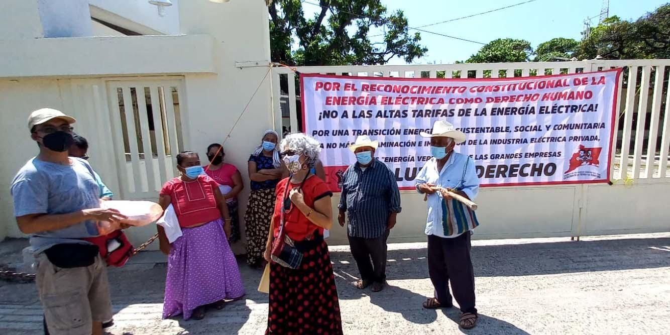 Protestan contra la CFE   El Imparcial de Oaxaca
