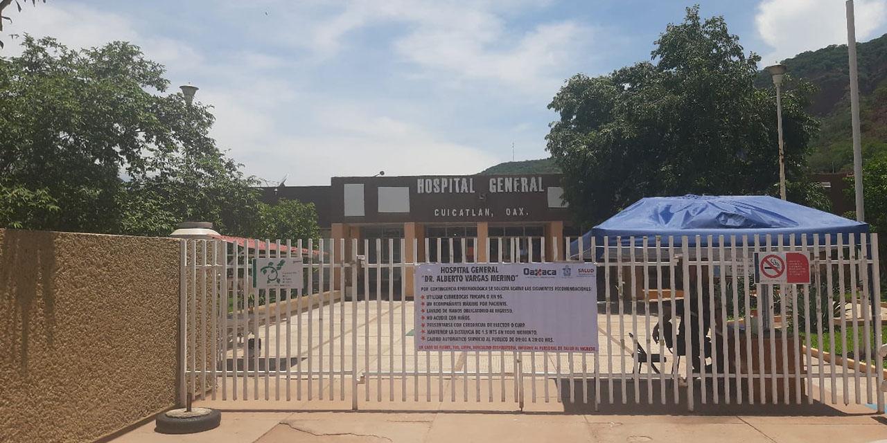 Solo 5 trabajadores atienden limpieza en el hospital de Cuicatlán | El Imparcial de Oaxaca